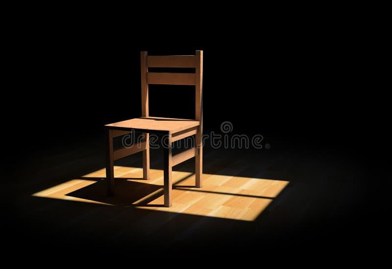 椅子 向量例证
