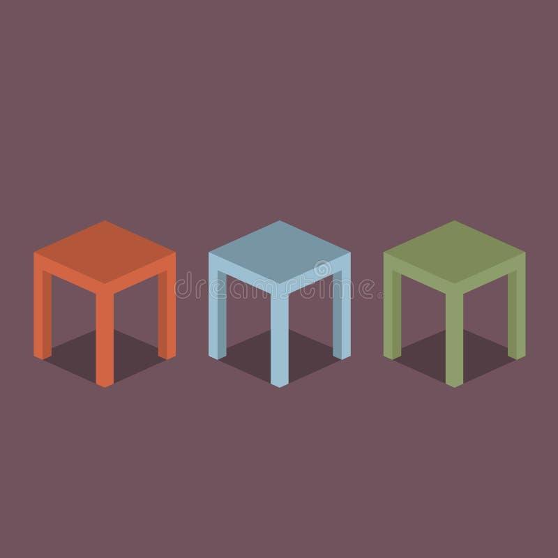 椅子 库存例证