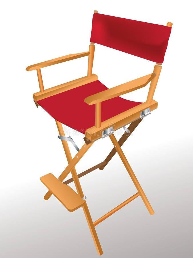 椅子s主任 皇族释放例证