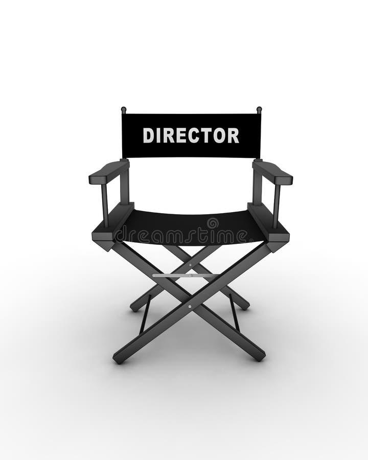 椅子s主任 向量例证