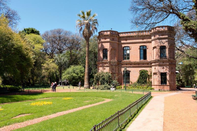 植物园,布宜诺斯艾利斯阿根廷 免版税图库摄影