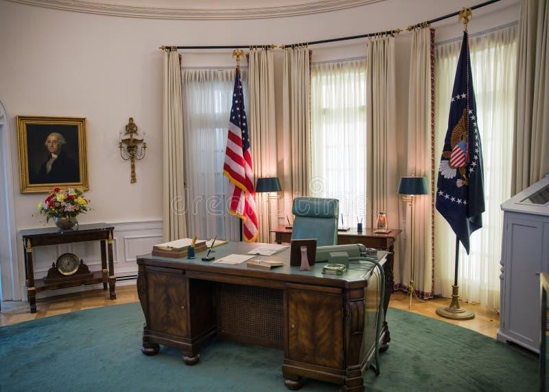 椭圆形办公室 库存图片