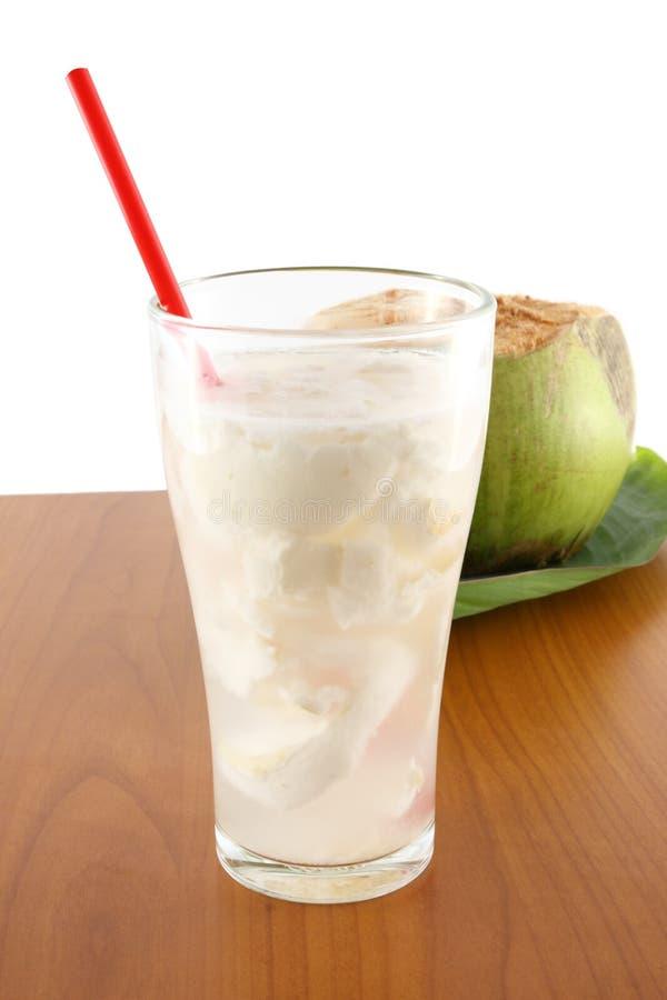椰子汁 免版税库存图片
