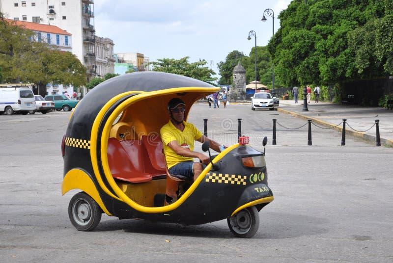 椰树出租汽车 免版税库存图片