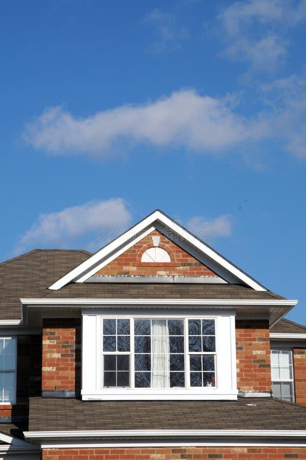楼层房子顶层视窗 库存照片