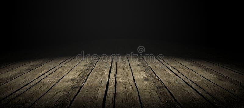 楼层木头 皇族释放例证