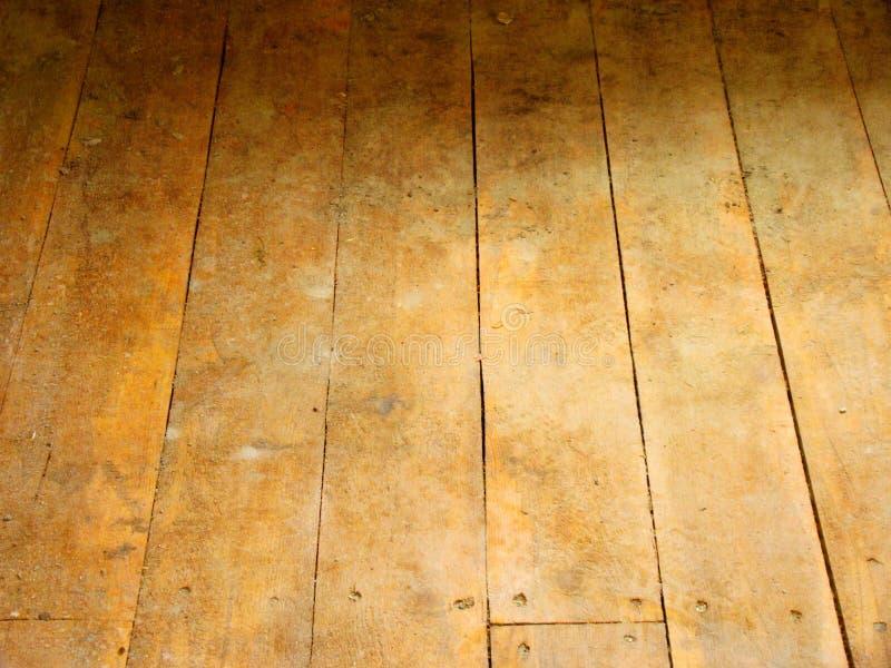 楼层木头 图库摄影