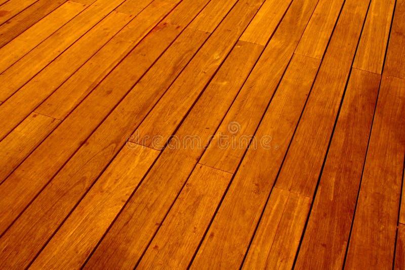 楼层木头 库存照片