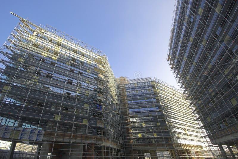 楼房建筑现代站点 免版税图库摄影