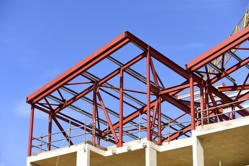 楼房建筑进展 E 免版税库存照片