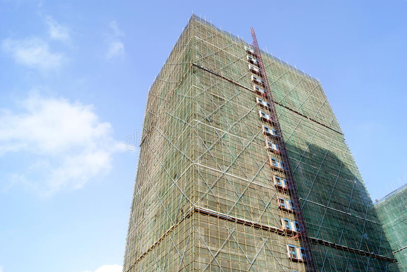 楼房建筑 免版税图库摄影