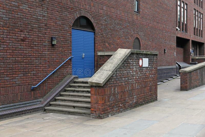 楼梯入口伦敦 库存图片