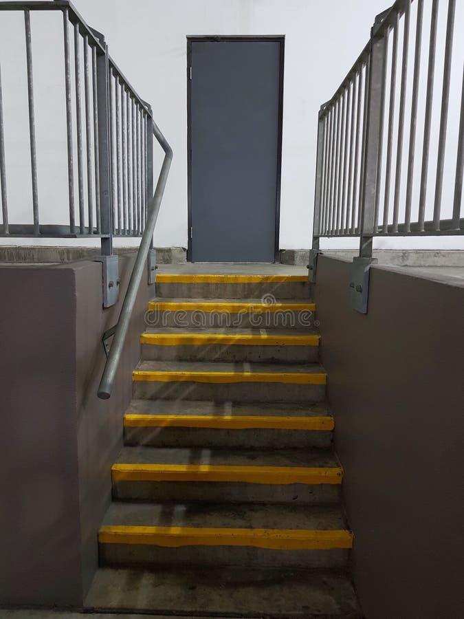 楼梯入口背景 免版税库存照片