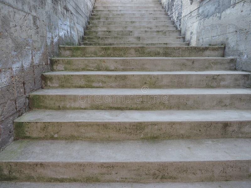 楼梯步 免版税库存图片