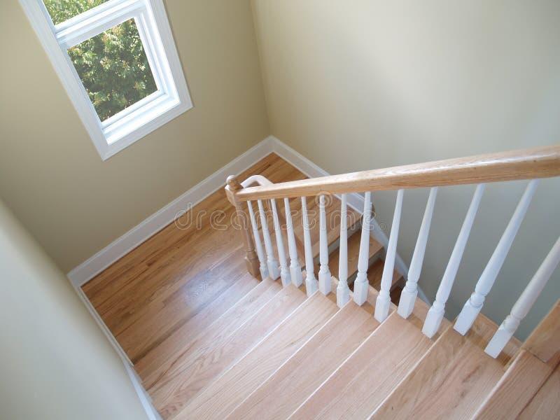 楼梯视窗 库存图片