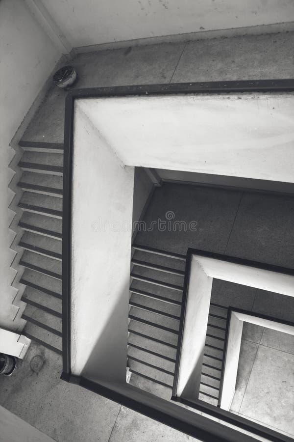 楼梯间火 库存照片