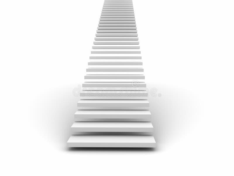 楼梯 库存例证