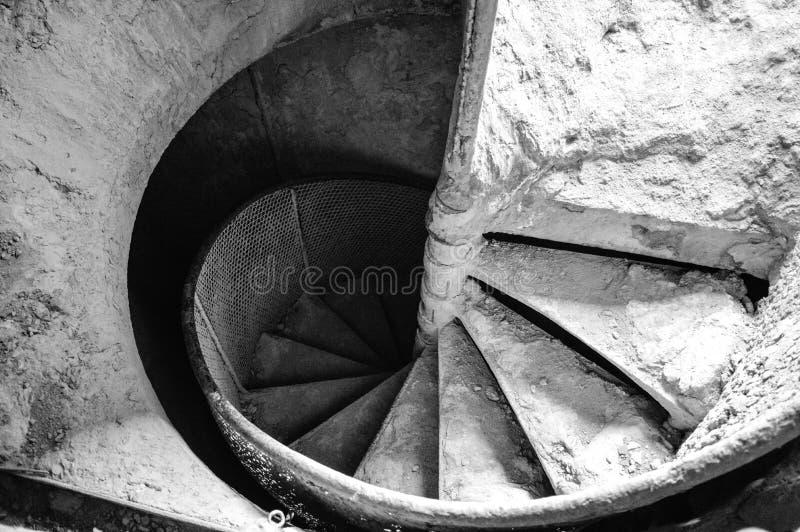 楼梯间 图库摄影