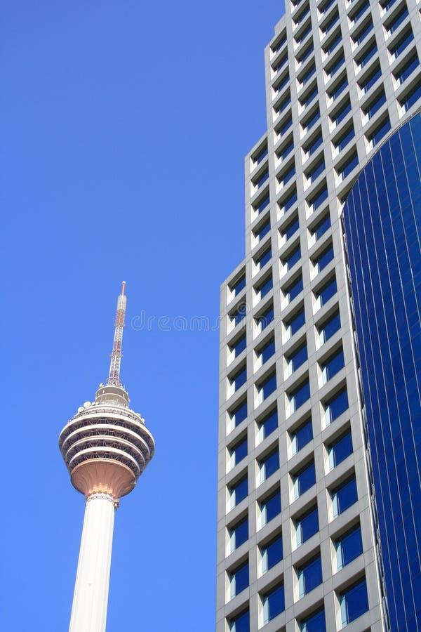 楼kl现代塔 库存照片