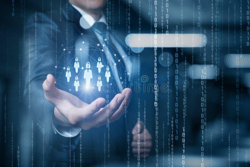 概念一般数据保护章程 免版税图库摄影