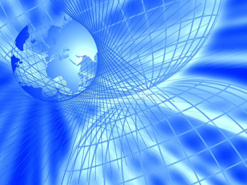 概念互联网 库存例证