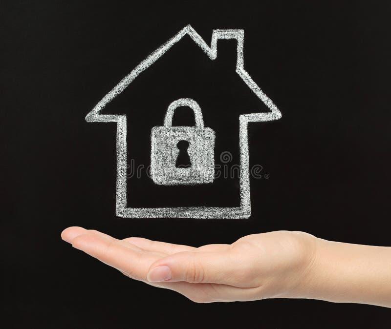 概念住家安全 免版税图库摄影