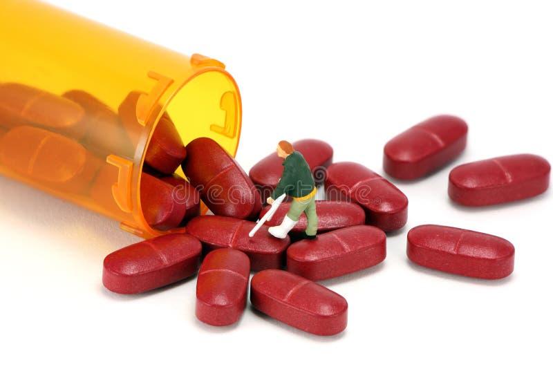概念使规定服麻醉剂 免版税图库摄影
