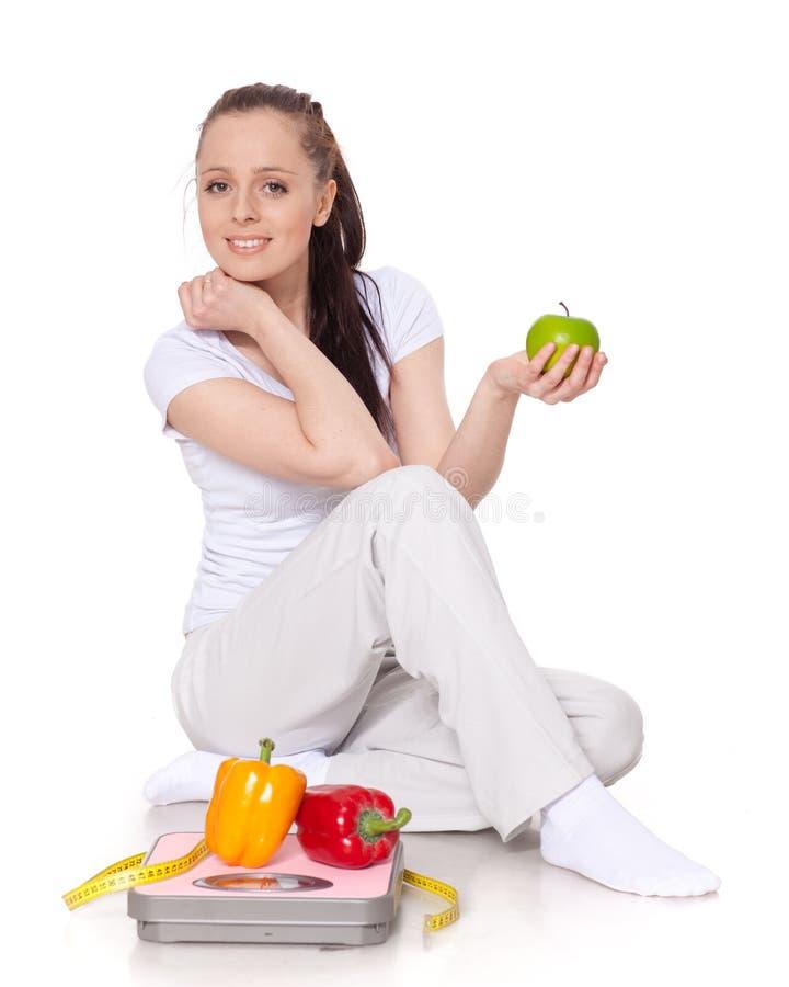 概念健康生活方式 免版税库存图片