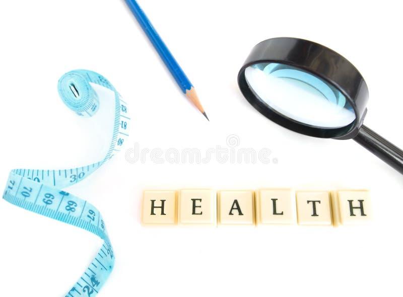 概念健康 免版税库存图片