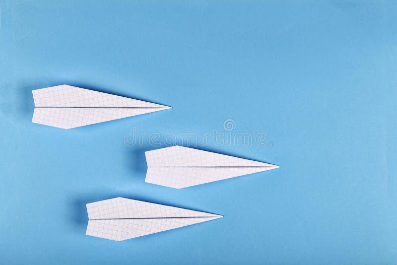 概念创造性,学会,起动,成功 飞机 顶视图拷贝空间 flatlay 免版税库存照片