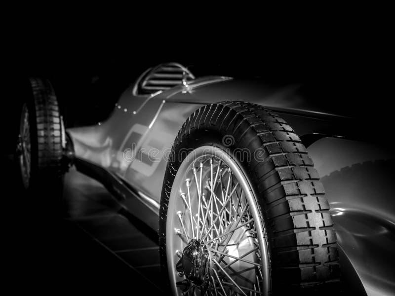 概念原型车银08 免版税库存照片