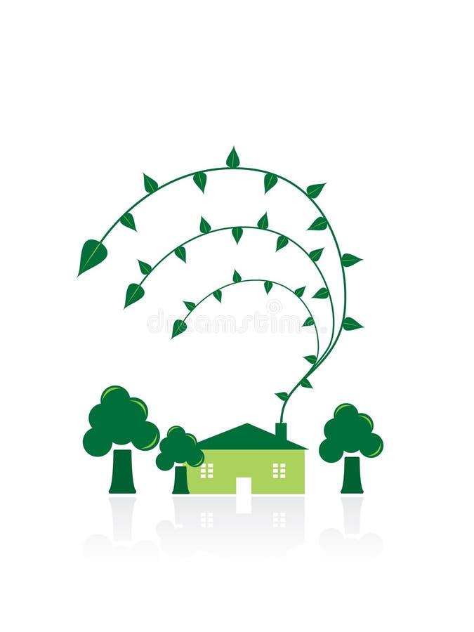 概念回收 库存例证