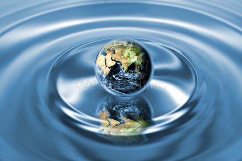 概念地球生态系 库存图片