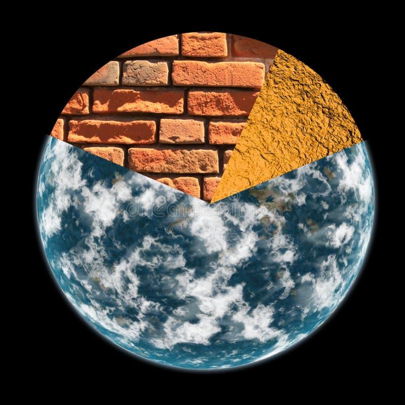 概念地球行星 库存照片