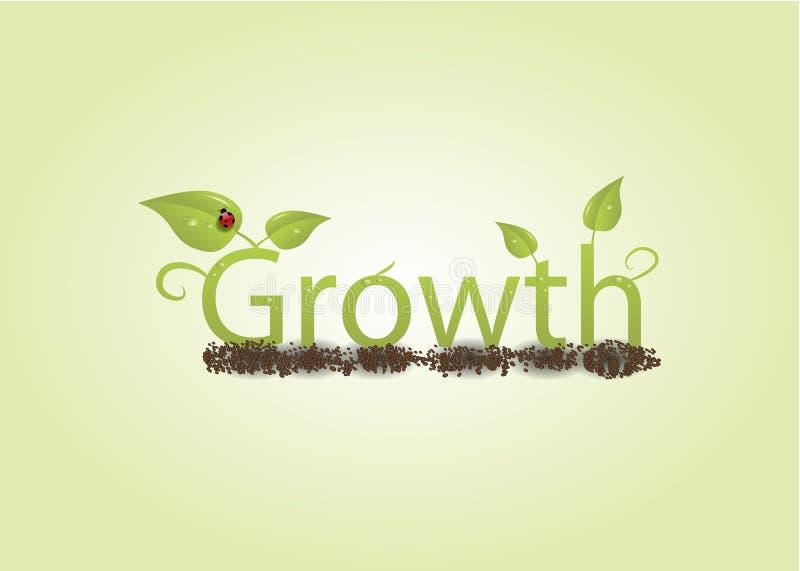概念增长 向量例证