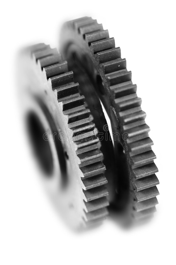 概念工程齿轮 图库摄影