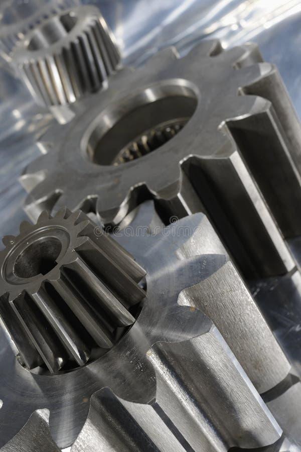 概念工程齿轮 免版税图库摄影