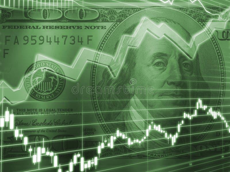 概念市场股票 库存图片