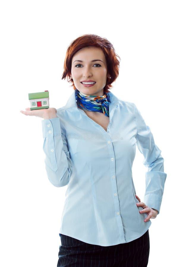 概念庄园房屋贷款新实际您 免版税库存图片