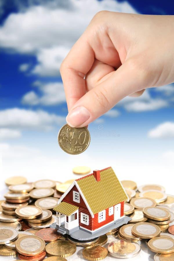 概念庄园投资实际 免版税库存图片