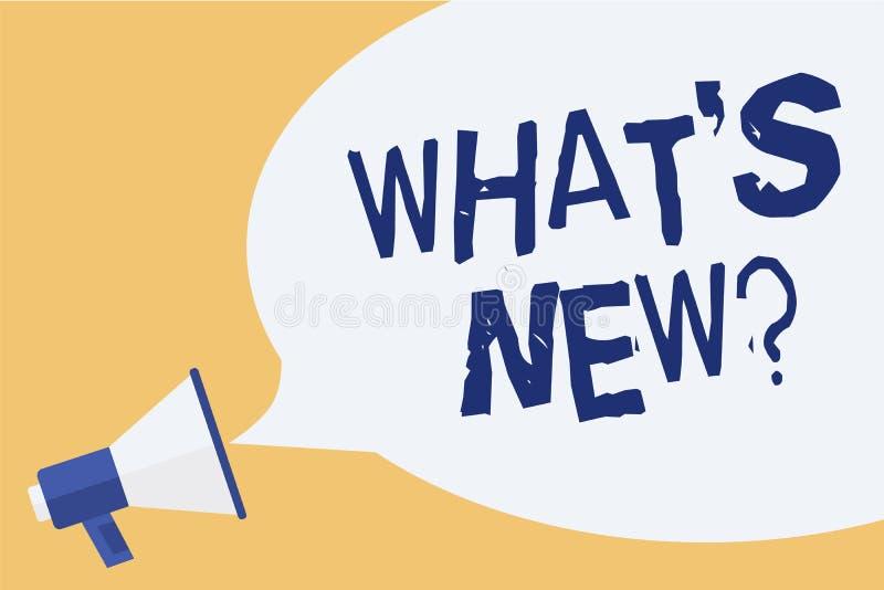 概念性手文字陈列什么s是新的问题 企业照片陈列的询问最新的更新趋向发生新 皇族释放例证