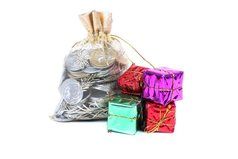 概念性礼品图象货币 免版税库存照片