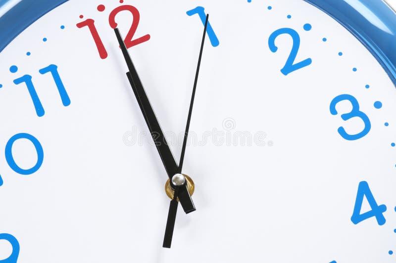 概念性读秒时间 免版税库存图片