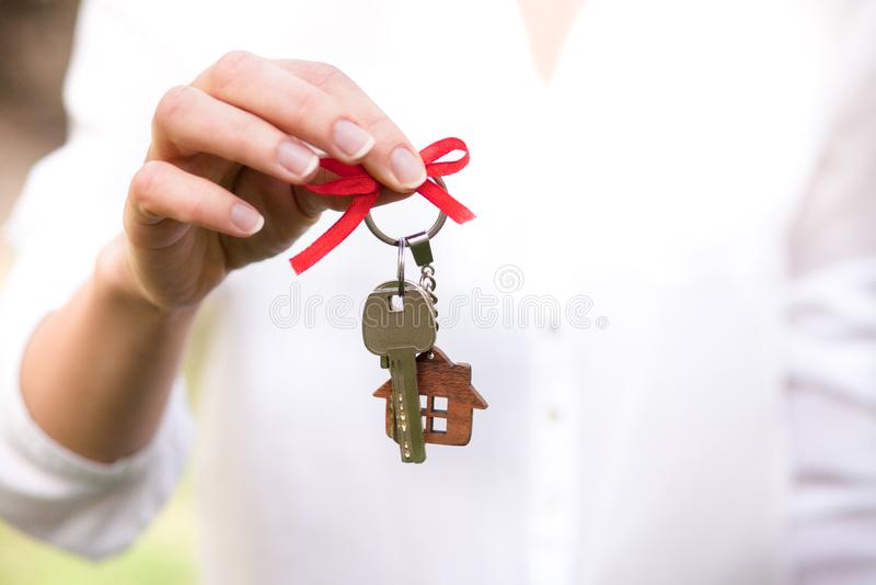 概念房主 房地产和物产 免版税库存图片