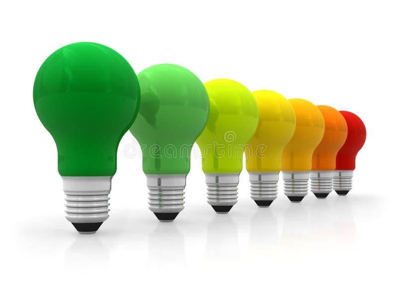 概念效率能源 皇族释放例证