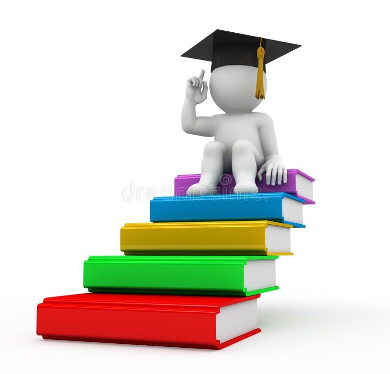 概念教育 库存例证