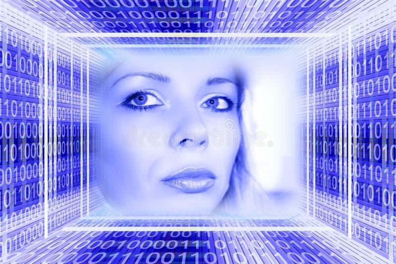 概念数字技术 图库摄影
