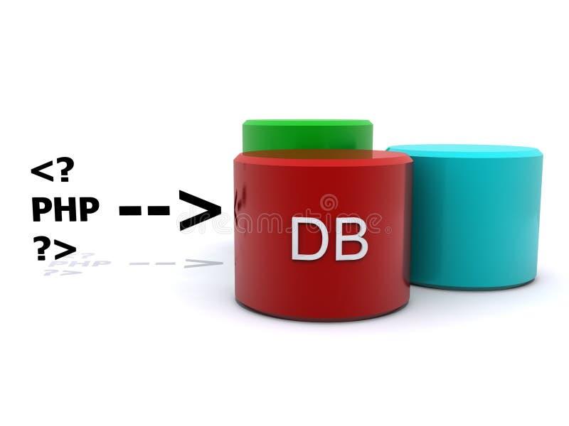 概念数据库 向量例证