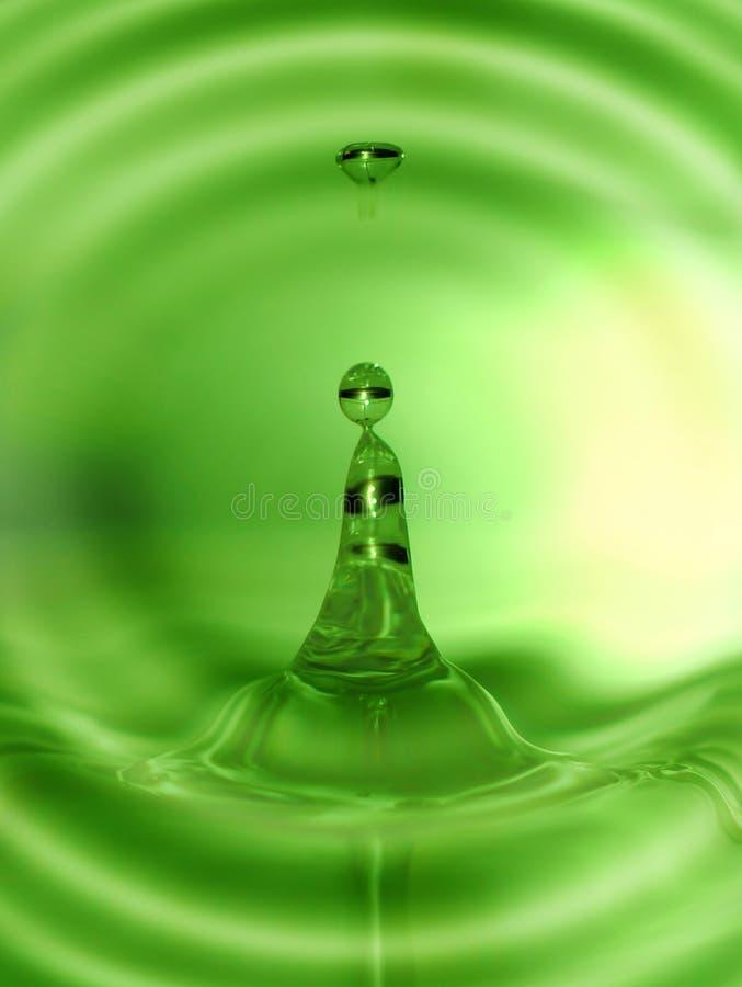 概念新鲜的液体 图库摄影