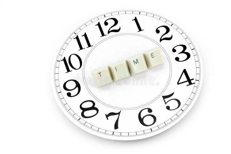 概念时间 免版税库存图片
